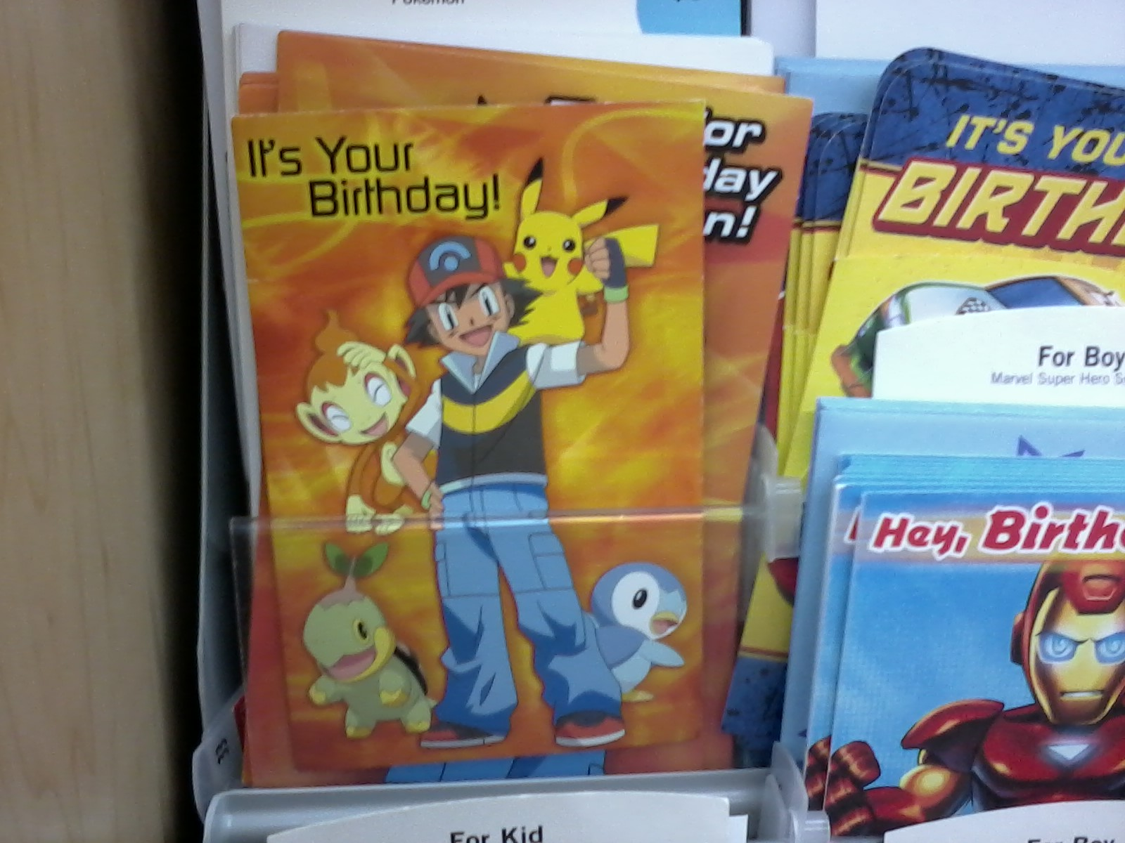 Pokemon Products Snapshots – Walmart Valentine Cards