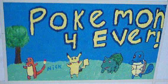 Pokemon 4 Ever Painting