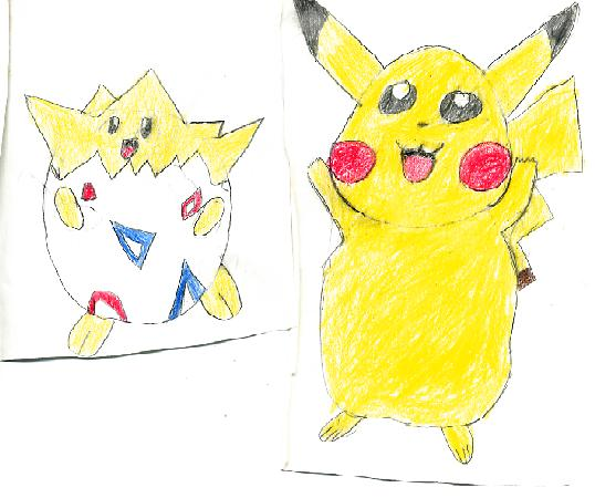 Togepi and Piakchu